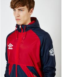 Umbro - Pro Training Potenza Jacket Red - Lyst