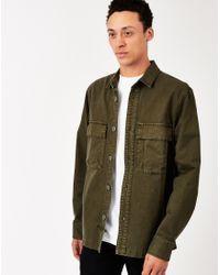 The Hundreds - Fatigue Woven Shirt Green - Lyst