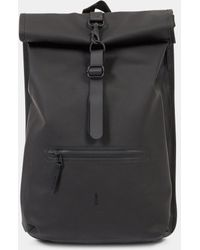 a7c34e7334 adidas Originals 29l Roll-top Backpack in Black for Men - Lyst