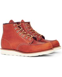 Red Wing - Heritage 6-inch Classic Moc Toe Leather Tan - Lyst