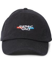 The Idle Man - Anything Once Embroidered Cap Black - Lyst