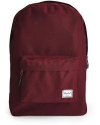625c9712ebc Herschel Supply Co.  heritage  Backpack - Burgundy in Red for Men - Lyst