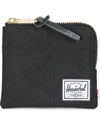 Herschel Supply Co. - Johnny Wallet Black - Lyst