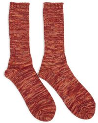 Anonymous Ism - 5 Colour Mix Crew Socks Red - Red - Lyst