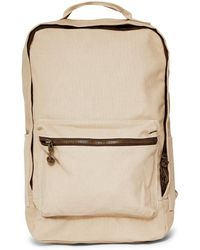 The Idle Man - Cotton Canvas Backpack Stone - Lyst
