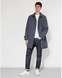 36e178cd79ac6 Lacoste - Blouson Overcoat Grey - Lyst