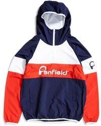 Penfield - Block Jacket Blue - Lyst