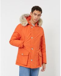 Woolrich - Artic Anorak Orange - Lyst