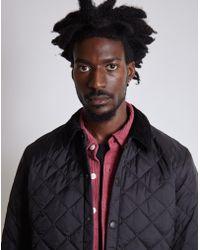 Barbour - Heritage Liddesdale Quilted Jacket Black - Lyst