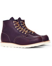 Red Wing - Heritage 6-inch Classic Moc Toe Leather Brown - Lyst