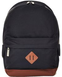 The Idle Man - Heritage Backpack Black - Lyst