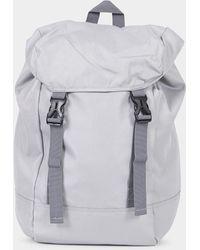 The Idle Man - Urban Utility Backpack Grey - Lyst