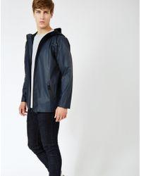 Rains - Breaker Jacket Navy - Lyst