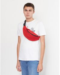 The Idle Man - Cross Body Bag Red - Lyst