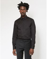 68ff9a8e372 Lyst - The Idle Man Check Shirt White in Black for Men