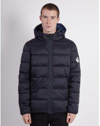 Barbour - Beacon Hike Quilted Jacket Navy - Lyst