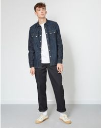 Lee Jeans - Rider Shirt Blue - Lyst