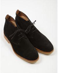 Hudson Jeans - Bedlington Suede Chukka Boot Black - Lyst