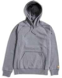 82d80f5fdadf Champion Classic Reverse Weave Hoodie Grey in Gray for Men - Lyst