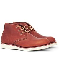Red Wing - Heritage Work Chukka Leather Tan - Lyst