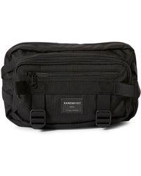 Sandqvist - Sanqvist Abbe Waste Bag Black - Lyst