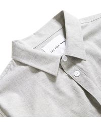 The Idle Man - Chambray Shirt Grey - Lyst