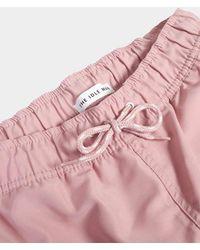 The Idle Man - Swim Shorts Pink - Lyst