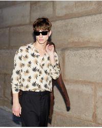 d9043d71659 The Kooples - Dark Leaves Regular Fit Shirt - Lyst