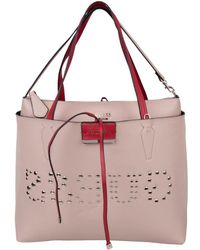 30c6f1530c18 Lyst - Guess Bobbi Inside Out Tote Bag
