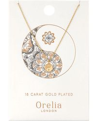 Orelia | Spiritual Elephant Ditsy Necklace | Lyst