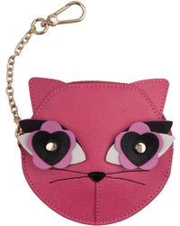 Furla - Charme Small Coin Case Cat - Lyst