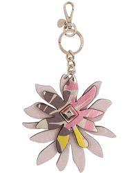 Guess - Devyn Flower Keychain - Lyst