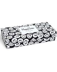 Happy Socks - Black White Gift Box - Lyst