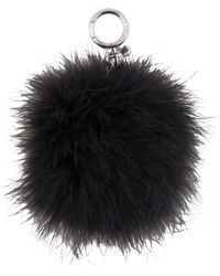 Michael Kors - Large Round Feather Pom Pom - Lyst