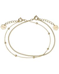Cluse - Essentielle Set Of Two Fine Bracelets - Lyst
