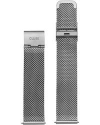 Cluse - La Boheme Strap Mesh Silver - Lyst
