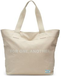 11aeb9cfb8 TOMS - Natural For One Another Transport Tote Bag - Lyst