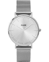 Cluse - La Boh�me Mesh Strap Watch - Lyst