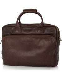 Castelijn & Beerens Firenze Laptop Bag 15.6 Inch - Brown