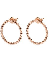 Cluse - Essentiele Open Circle Embellished Stud Earrings - Lyst