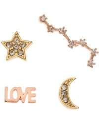 Orelia - Love Small Mixed Pin Pack - Lyst