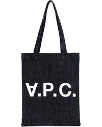 A.P.C. - Laurent Tote Bag - Lyst
