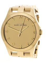 Marc By Marc Jacobs - Plated Stainless Steel Henry Mbm3211 Women's Wristwatch 36 Mm - Lyst
