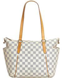 Louis Vuitton Damier Azur Totally Pm Tote Bag