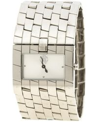 Roberto Cavalli - Stainless Steel Cleavage Women's Wristwatch 35mm - Lyst