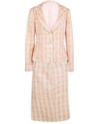 Michael Kors - Tweed Sequin Embellished Skirt Suit L - Lyst