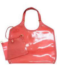 7e3940c98b6e Louis Vuitton - Grenadine Red Vinyl Epi Leather Plage Lagoon Gm Bag - Lyst