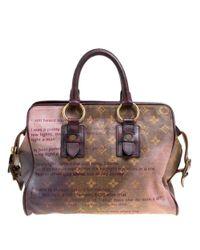 a926b2d9c69e Louis Vuitton - Monogram Limited Edition Richard Prince Graduate Jokes Bag  - Lyst