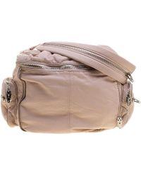 cef4ec78d8 Alexander McQueen - Alexander Wang Blush Pink Leather Jane Shoulder Bag -  Lyst