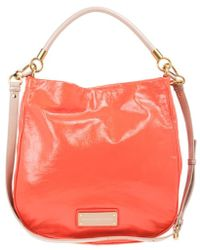 54a4e087f8f1c Marc By Marc Jacobs Too Hot To Handle Hobo Bag Lipstick Red in Red ...